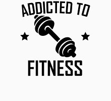 Addicted To Fitness Dumbbell Unisex T-Shirt