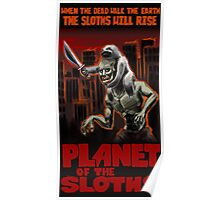 Planet Of The Sloths Poster