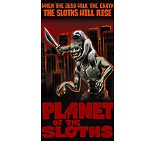Planet Of The Sloths Photographic Print