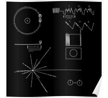 The Voyager Golden Record Poster