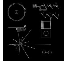 The Voyager Golden Record Photographic Print