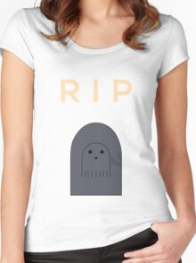 Ghostly Remembrance  Women's Fitted Scoop T-Shirt