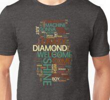 Wish You Were Here 'word cloud' Unisex T-Shirt