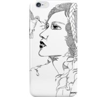 Hummingbird Girl iPhone Case/Skin