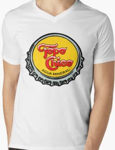 Topo Chico T-Shirt Print Mens V-Neck T-Shirt