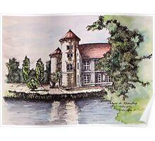 German Castle - Original Background Poster
