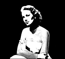 Grace Kelly In Black & White by Museenglish