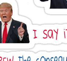 Donald Trump / Hillary Clinton 2016 Sticker