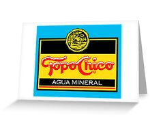 Topo Chico T-Shirt Print Greeting Card