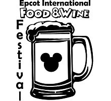 Epcot Food and Wine Festival Mens Shirt Photographic Print
