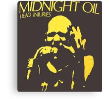 Midnight Oil Canvas Print