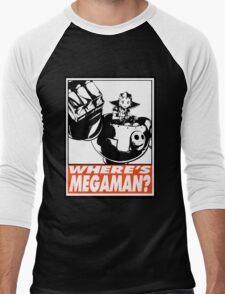 Tron Bonne Where's Megaman? Obey Design Men's Baseball ¾ T-Shirt