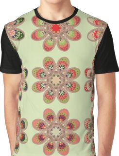 Watermelon Foot Flowers Graphic T-Shirt