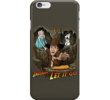 Indiana... Let It Go iPhone Case/Skin