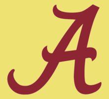 Alabama Crimson Kids Tee