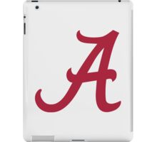 Alabama Crimson iPad Case/Skin