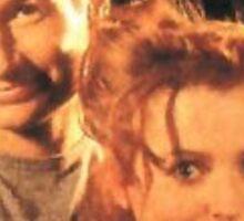 Gillian Anderson + David Duchovny  Sticker