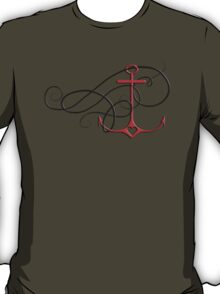 anchor with swirl T-Shirt