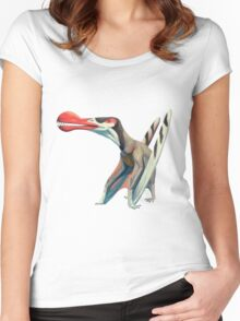Ornithocheirus  Women's Fitted Scoop T-Shirt