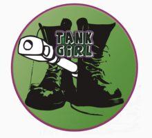 TANK GIRL STICKER by tiffanyo