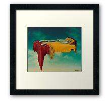 """""""Wet Lunch"""" 1976 Framed Print"""