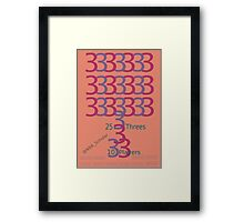 The night when 10 Cavaliers made 25 threes  Framed Print