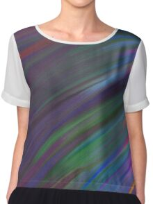 Fun Abstract Art 8 Chiffon Top