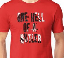 Black Butler: One Hell Of a Butler Quote (Sebastian) Unisex T-Shirt
