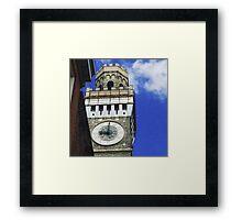 Baltimore Clocktower Framed Print