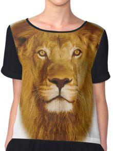 Lion Chiffon Top