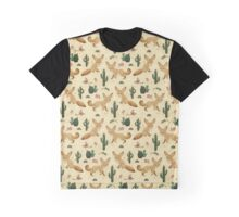Desert of the Fennec Fox Graphic T-Shirt