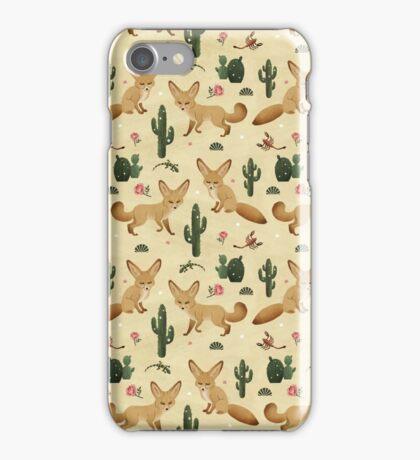 Desert of the Fennec Fox iPhone Case/Skin