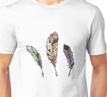Watercolor Quill design Unisex T-Shirt