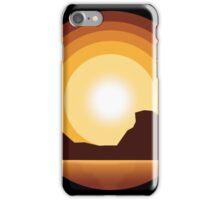 Circle Sunset iPhone Case/Skin