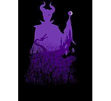Midnight Maleficent Photographic Print
