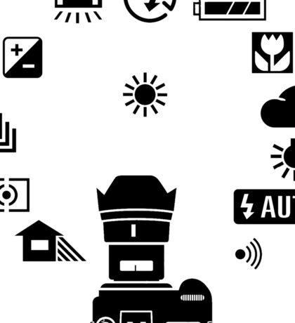 Camera Mode Dial Sticker