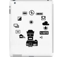 Camera Mode Dial iPad Case/Skin