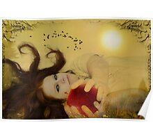 Her garden of Eden Poster