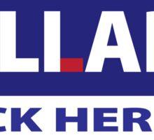 Hillary LIAR Sticker