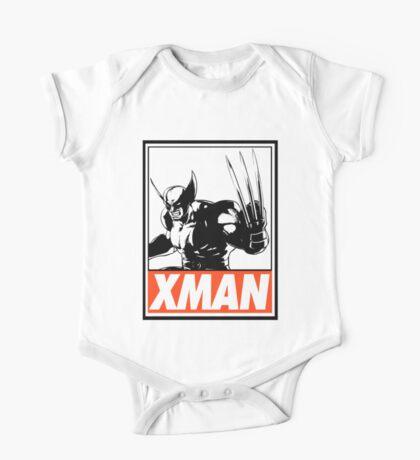 Wolverine Xman Obey Design One Piece - Short Sleeve