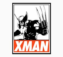 Wolverine Xman Obey Design Men's Baseball ¾ T-Shirt