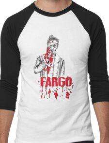 Steve Buscemi in Fargo Men's Baseball ¾ T-Shirt