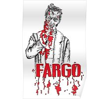 Steve Buscemi in Fargo Poster
