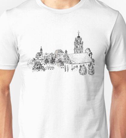 Vilnius View Unisex T-Shirt