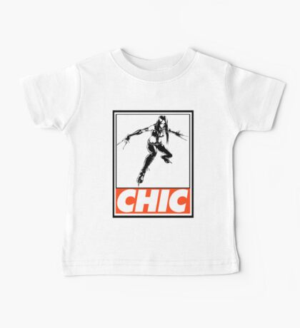 X-23 Chic Obey Design Baby Tee