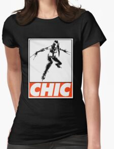 X-23 Chic Obey Design Womens Fitted T-Shirt