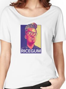 RiceGum Crew - Long Sleeve (Sweatshirt) Women's Relaxed Fit T-Shirt