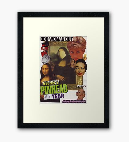 Odd Woman Out Framed Print