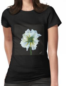 Flowerscape Awake Womens Fitted T-Shirt