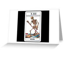 Death. Greeting Card